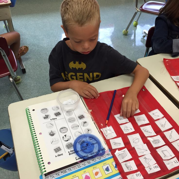 Flipping for First: Organizing Words Their Way!