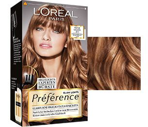 Préférence Glam Lights No. 3 für dunkelblondes bis hellbraunes Haar