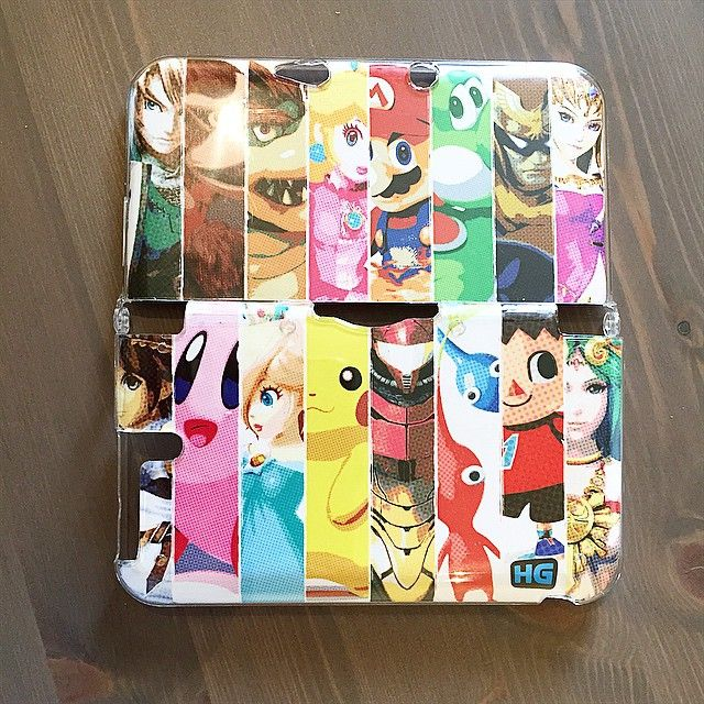 Nintendo 3DS Cases - Nintendo SMASH Brothers  #nintendo #3DS #case