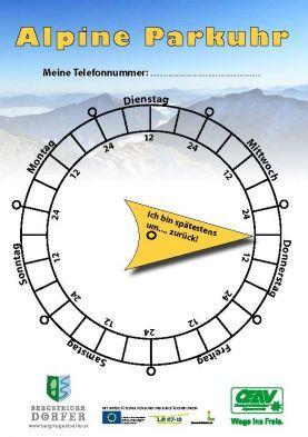 Da das Wetter im Moment für die ersten sonnigen Wanderungen des heurigen Jahres wirklich perfekt ist, möchten wir wieder die Alpine Parkuhr in Erinnerung rufen! Eine sinnvolle Idee finden wir - geht auch mit einem einfachen Stück Papier...   #wandern #weitwandern #weitwanderwege #sicherheit #tourenplanung #österreich #mehrtagestouren #alpineparkuhr - Die Alpine Parkuhr vom Österreichischer Alpenverein (OEAV)