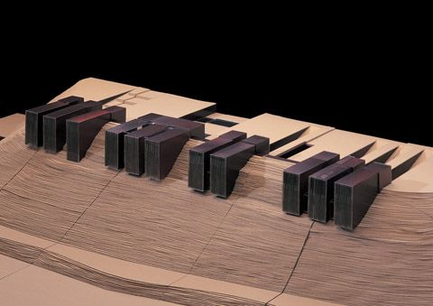 preciousandfregilethings: fabriciomora: CASA HORIZONTE - RCR Architects