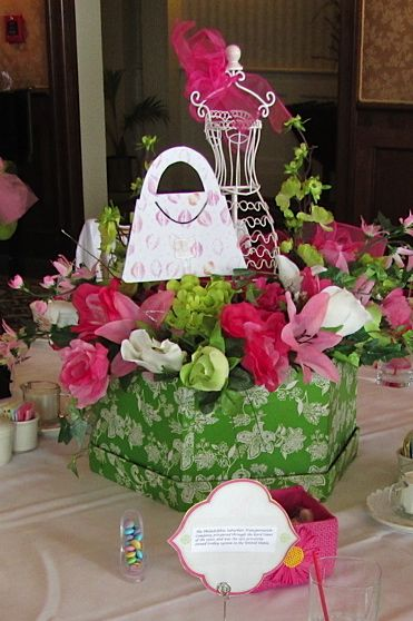 Curated fashion show centerpieces ideas by alicesbid