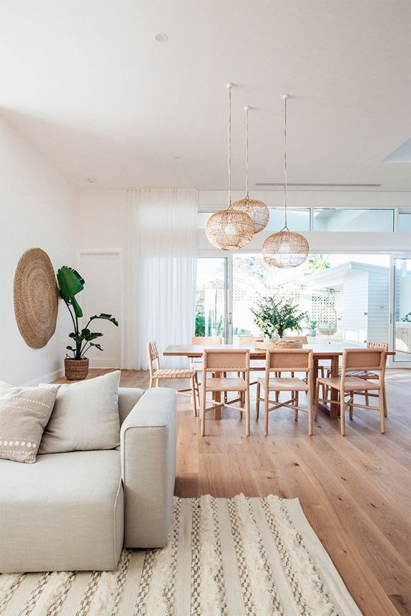 Pin By Stitch Shutter Leather Acc On Home Spaces Boho Dining Room Dining Room Design White Dining Room