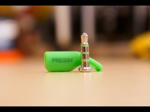(167) Pressy Review: A New Use for Your Headphone Jack - YouTube