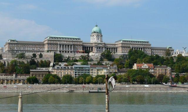 Buda Castle in Budapest Zamek Królewski w Budapeszcie
