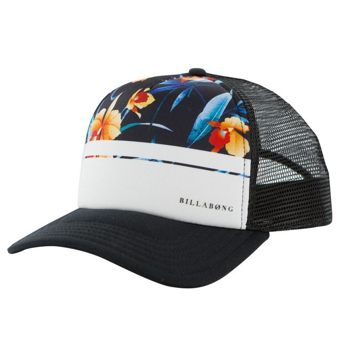 BILLABONG Womens Trucker Cap Truckercap Meshcap Basecap Baseballcap