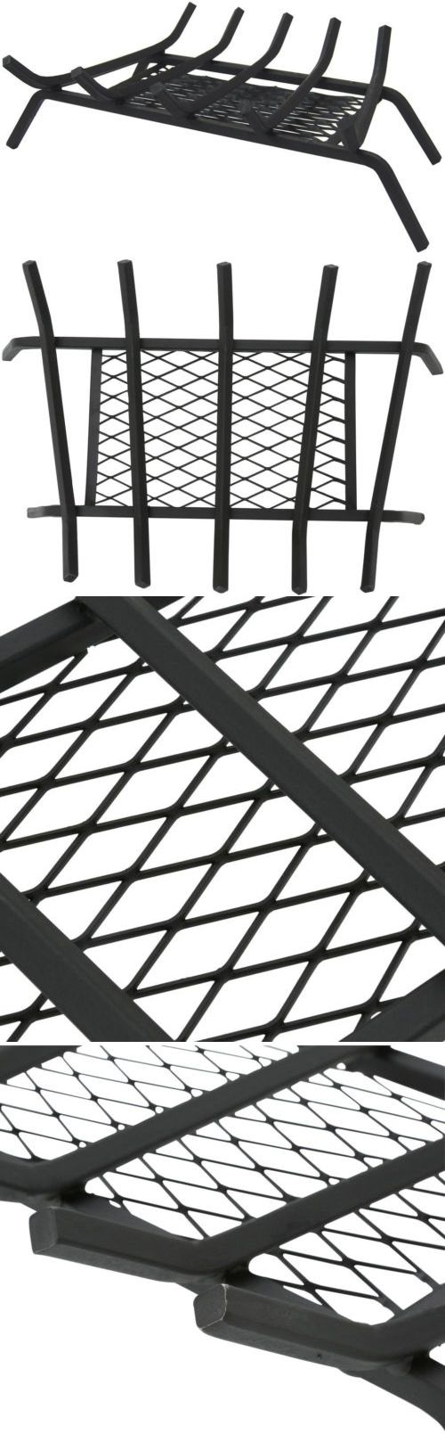gt uniflame black wrought iron log rack with decorative scrolls