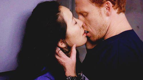 Christina Yang and Owen Hunt. Grey's Anatomy
