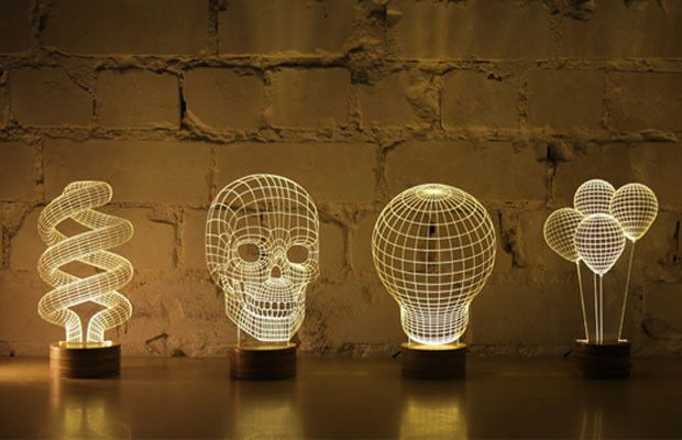 optical illusion lamp - Поиск в Google