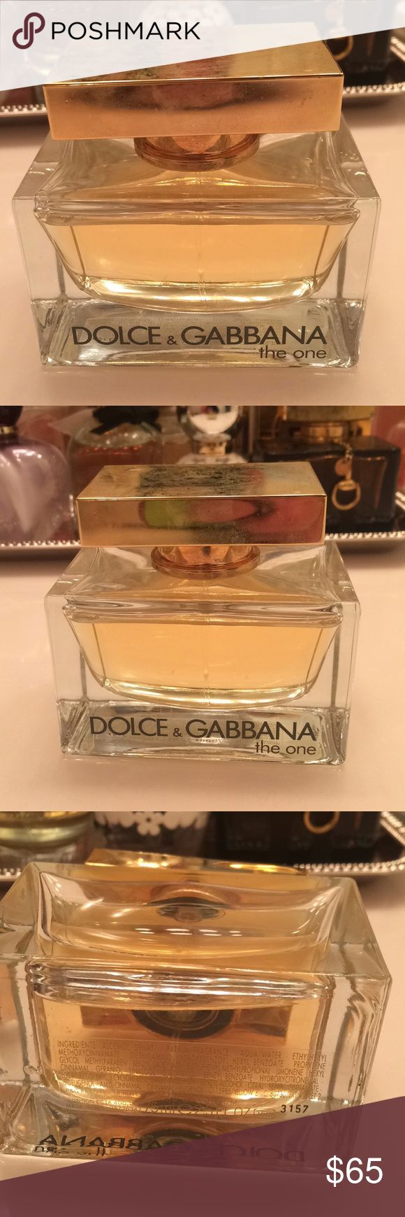 Dolce &e Gabbana perfume (tester) The One by D&G Dolce & Gabbana Other