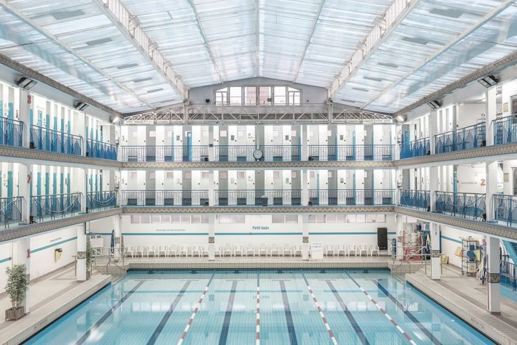 Paris Swimming Pool Photography by Ludwig Favre http://mindsparklemag.com/design/paris-swimming-pool-photography/