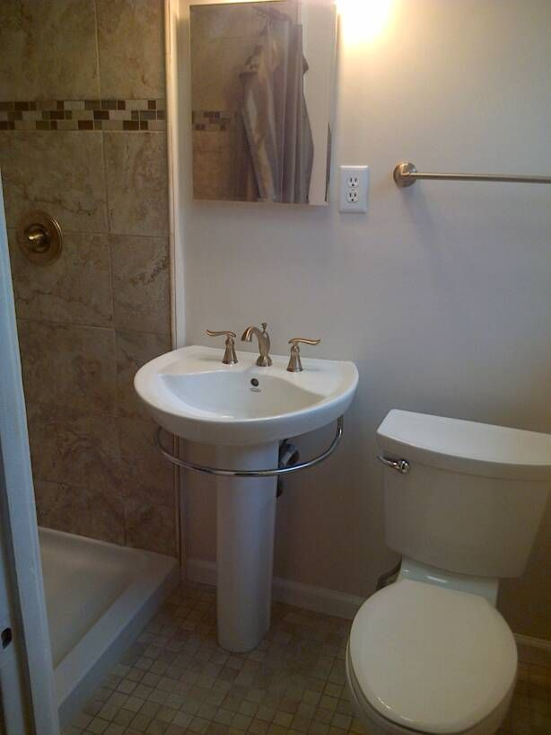 10 best images about 5x7 bathroom on pinterest toilets for Bath remodel tampa