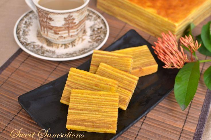 Thousand Layer Cake Lapis Recipe