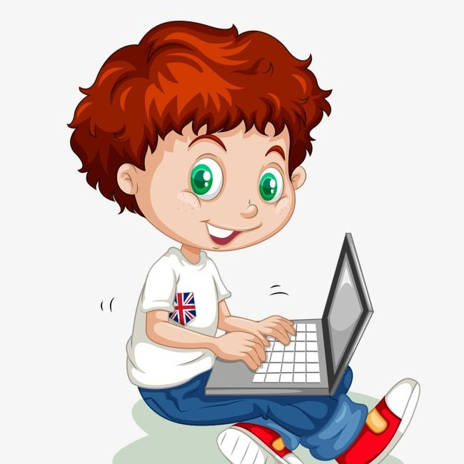 Little Boy Learn Student Serious Little Boy Computer Clipart Clipart Boy Kids Clipart Cartoon Boy