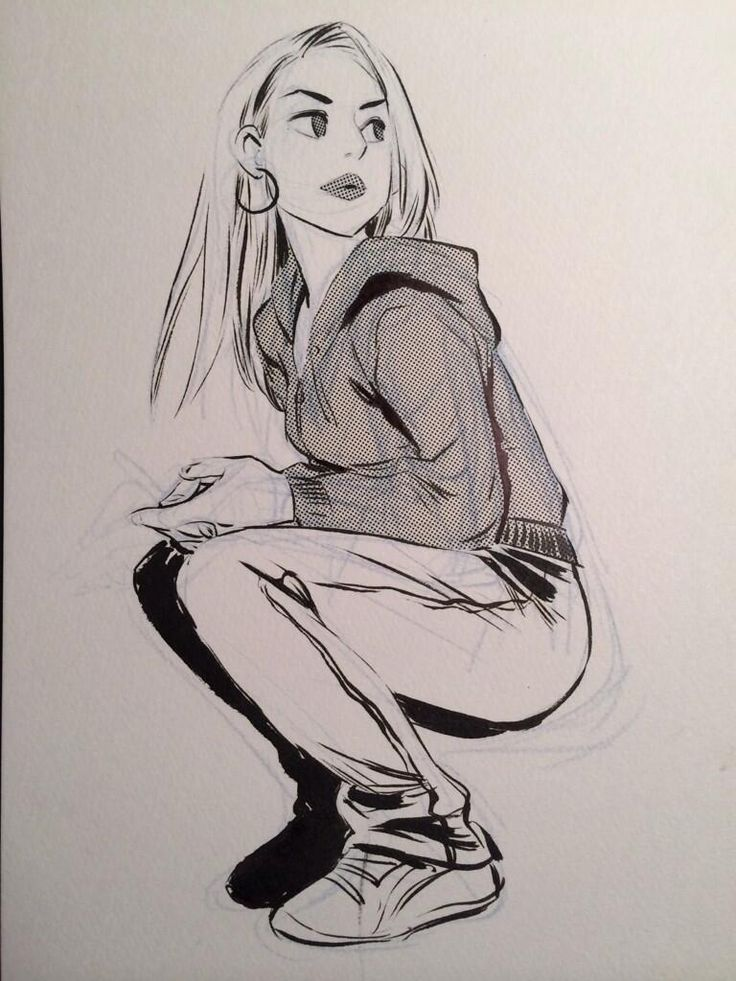 It is an image of Divine Squat Pose Drawing