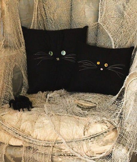 Cuscini gatti neri