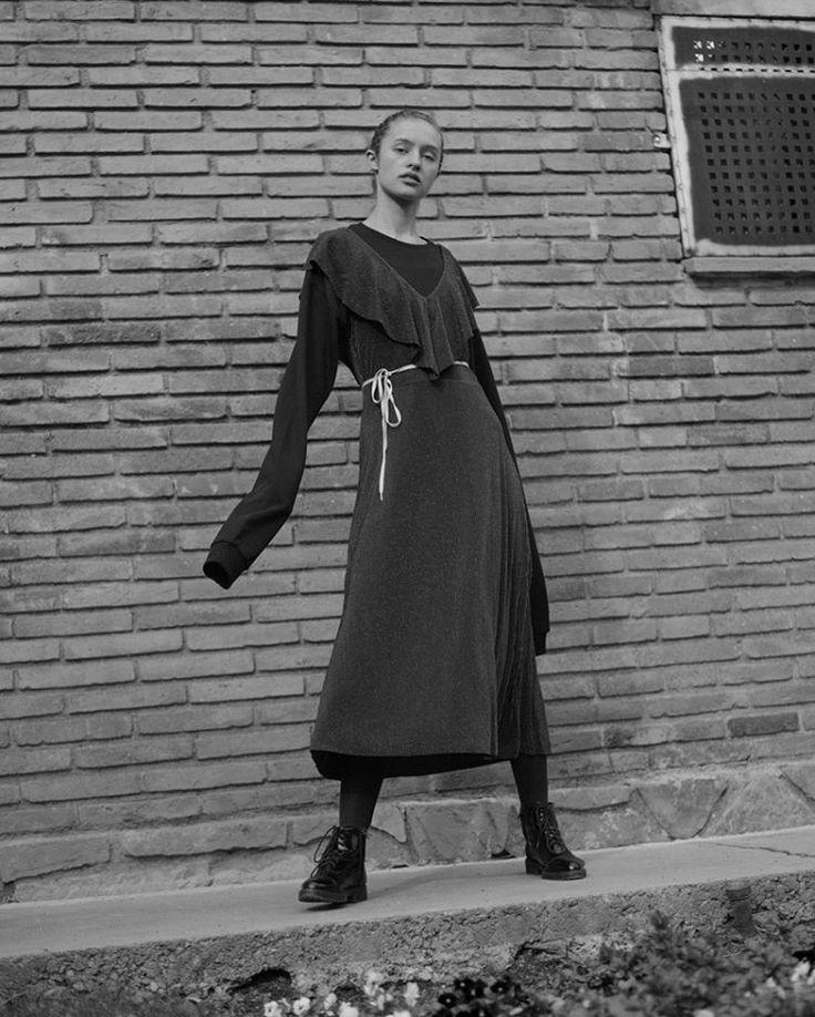 """The Jean Genie"" by @_rociodurand, Model: Violetta Franka  @blowmodels"