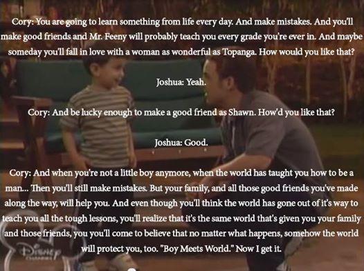 Boy Meets World to Girl Meets World
