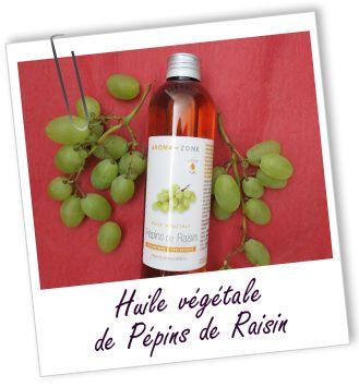 Huile de pépins de raisin = L'huile indispensable pour les cheveux crépus