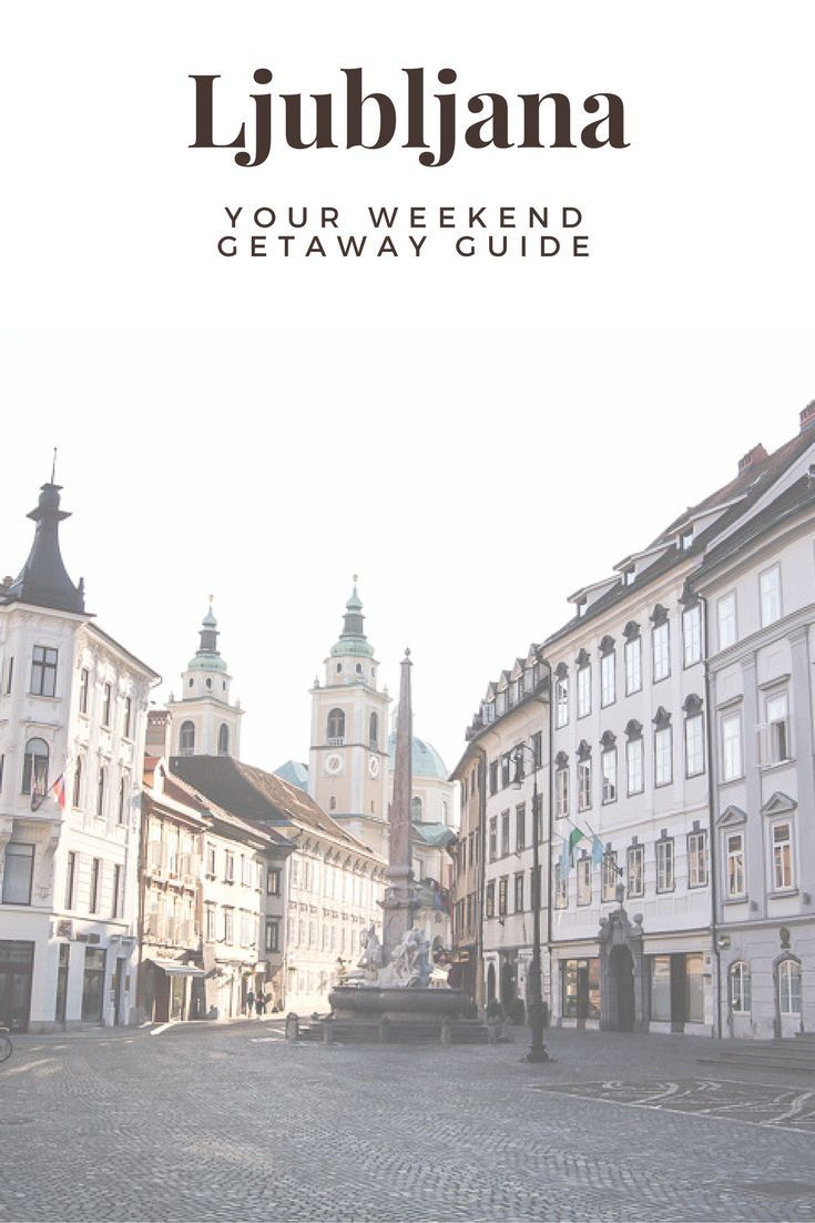 Ljubljana, Slovenia is perfect for a weekend getaway trip in Europe. Check this post for some useful tips on making the most of your time in this adorable city