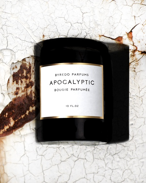 Byredo- hmmm- even a candle for the end of the world person- there's something for everyone who loves scent!!