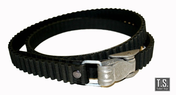 Recycle cam belt with original parachute carabin by TSRUBBER, $33.00