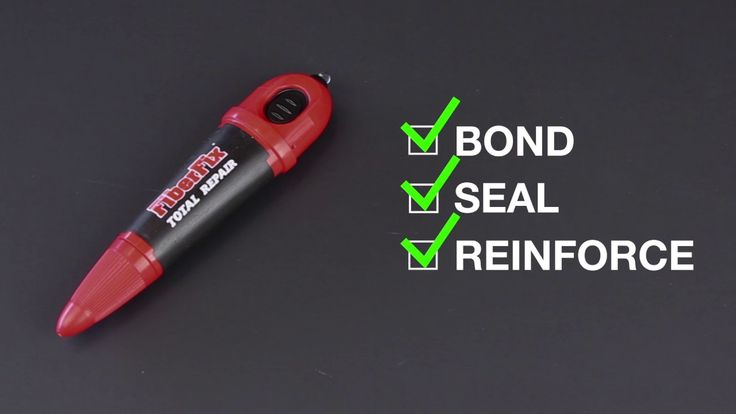 Fiber Fix Repair Tool - Lets people seal cracks and chips in their windshield themselves.