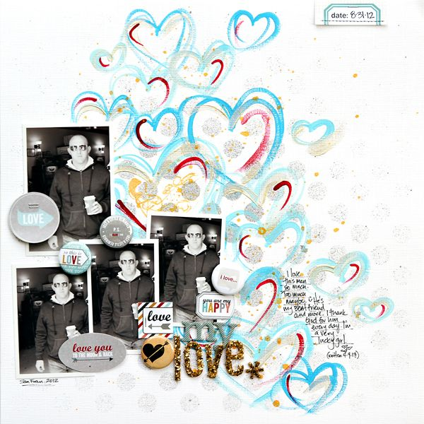 130 best scrapbooking paintspray ideas images on pinterest a project by corej from our scrapbooking gallery originally submitted at am solutioingenieria Choice Image