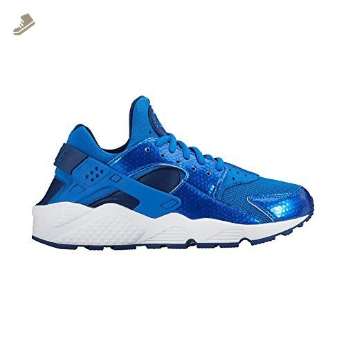 Air Huarache Run Ultra, Chaussures de Running Homme, Multicolore (Black/White/Wolf Grey/Bright Cactus), 42.5 EUNike