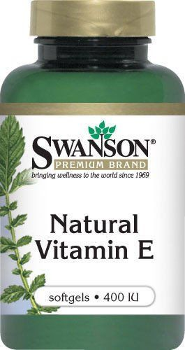 SWANSON natural Vitamin E 400 IU x 100 capsules