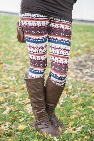 Autumn Digital Leggings