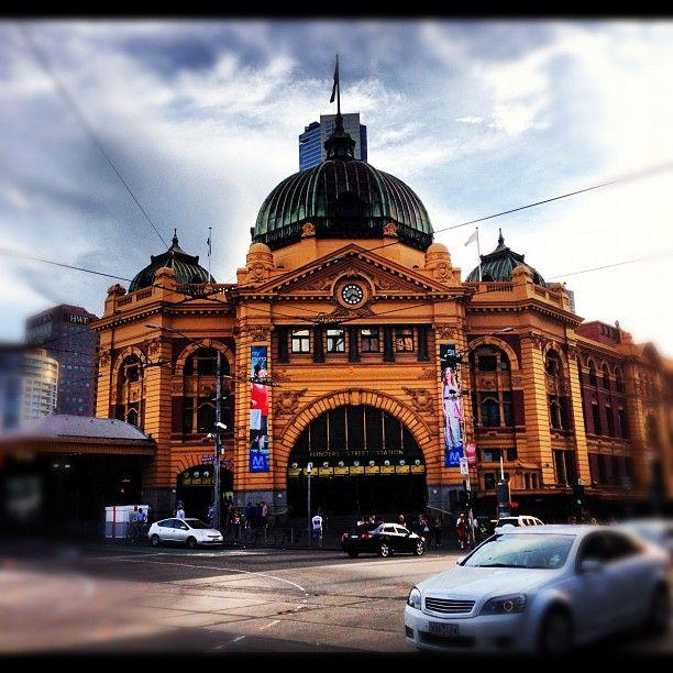 Flinders Street Station #melbourne #rentalexpress