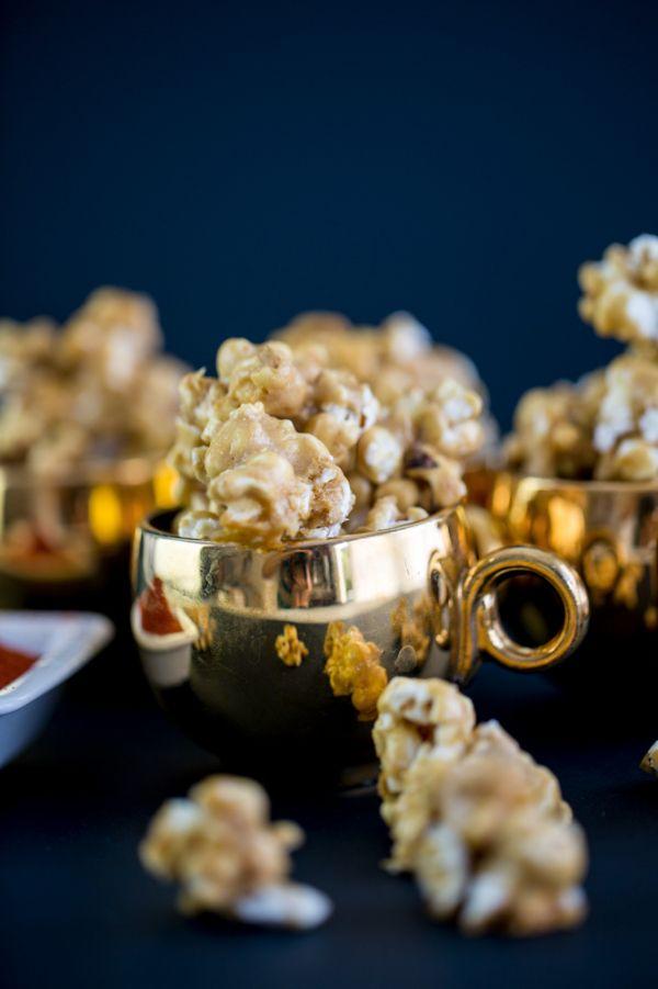 Spicy Caramel Popcorn | candies, popcorn, candied apples | Pinterest