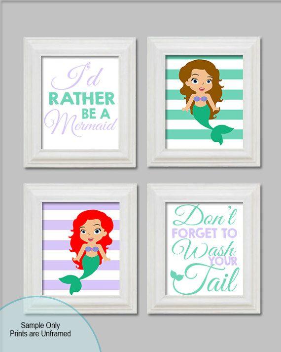 17 best ideas about mermaid bathroom decor on pinterest beach theme bathroom mermaid bathroom - The little mermaid bathroom decor ...