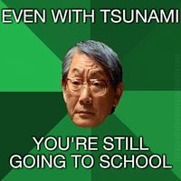 slob, humor, Asian dad meme