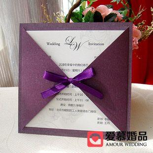 invitation purple - Google Search