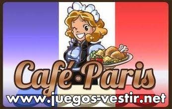 Eres una #camarera en la mejor #cafeteria de Paris, y por ello tienes la responsabilidad de atender muy bien a los clientes #juegosdevestir   #juegosdecocinar   #juegosdeservir    http://www.juegos-vestir.net/jugar/cafe-paris