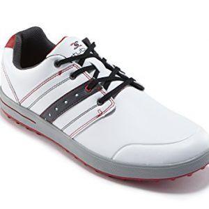 Stuburt Urban Casual Spike Less, Men's Golf Shoes, White (White), 12 UK (47 EU)