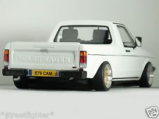 "1:18 MK1 ""VOLKSWAGEN CADDY G60 Pick-Up"" MODIFIED TUNING UMBAU VW GOLF Rabbit GTi"