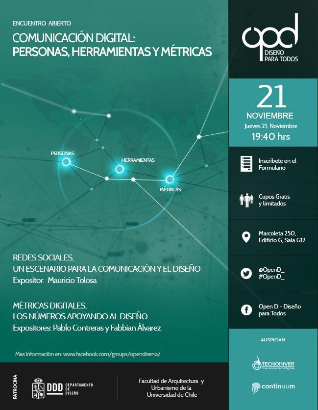 Afiche Versión Dark Encuentro Open D Noviembre 2013 - En Ayudantegrafico