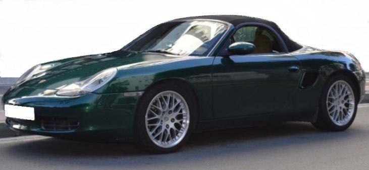 2001 Porsche Boxster 2.7 cabriolet convertible sports
