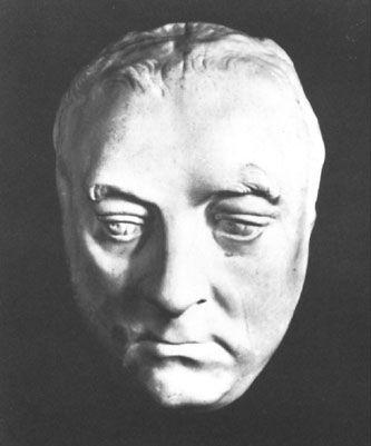 George Friedrich Handel's Death Mask (1759)