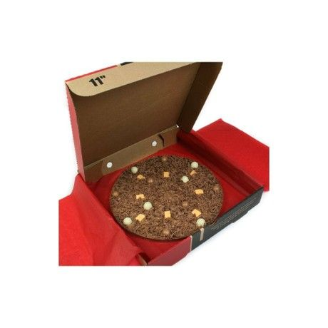 """10"""" HEAVENLY HONEYCOMB PIZZA by The Gourmet Chocolate Pizza Company"""