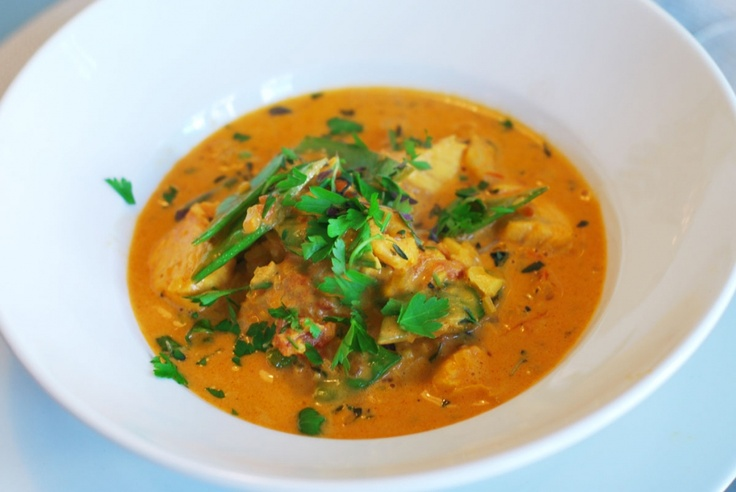 Creamy bouillabaisse fish soup favourite foods for Creamy fish soup recipe