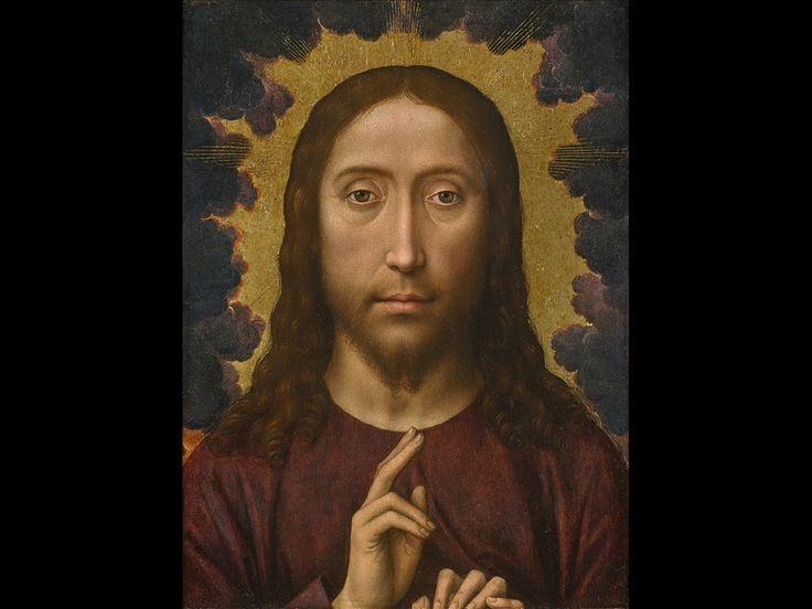 Hans Memling, Salvator Mundi, 1480 - 1485