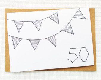 40ste verjaardag 40ste verjaardagskaart van SweetAndMellow op Etsy