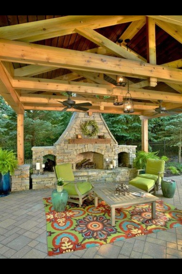 Gorgeous outdoor patio, Think Todd would make this for me???