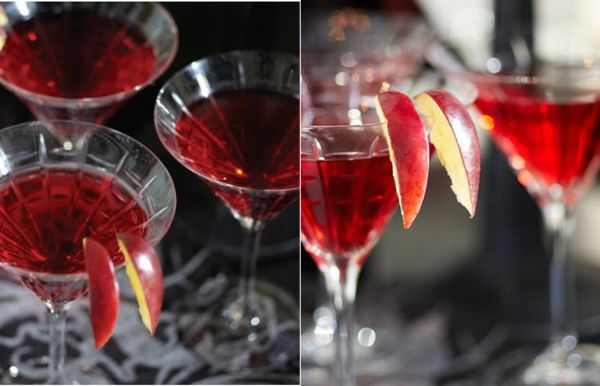 PARTY BLOG by BirdsParty|Printables|Parties|DIYCrafts|Recipes|Ideas: Halloween Week with Pottery Barn: Blood Bar Cocktails