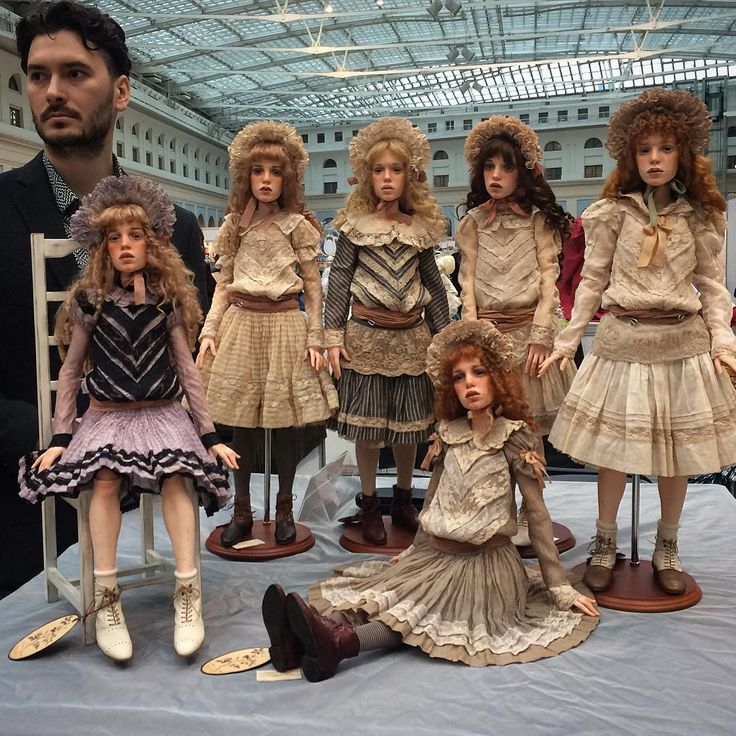 Most people don't try to make dolls themselves. Most people aren't Michael Zajkov.