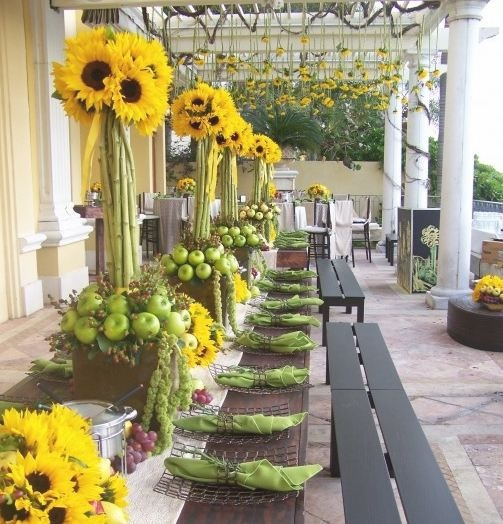 Yellow Wedding Flowers Ideas: 17 Best Images About Flowers: Sunflowers On Pinterest